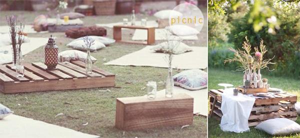 decoração no jardim *-*