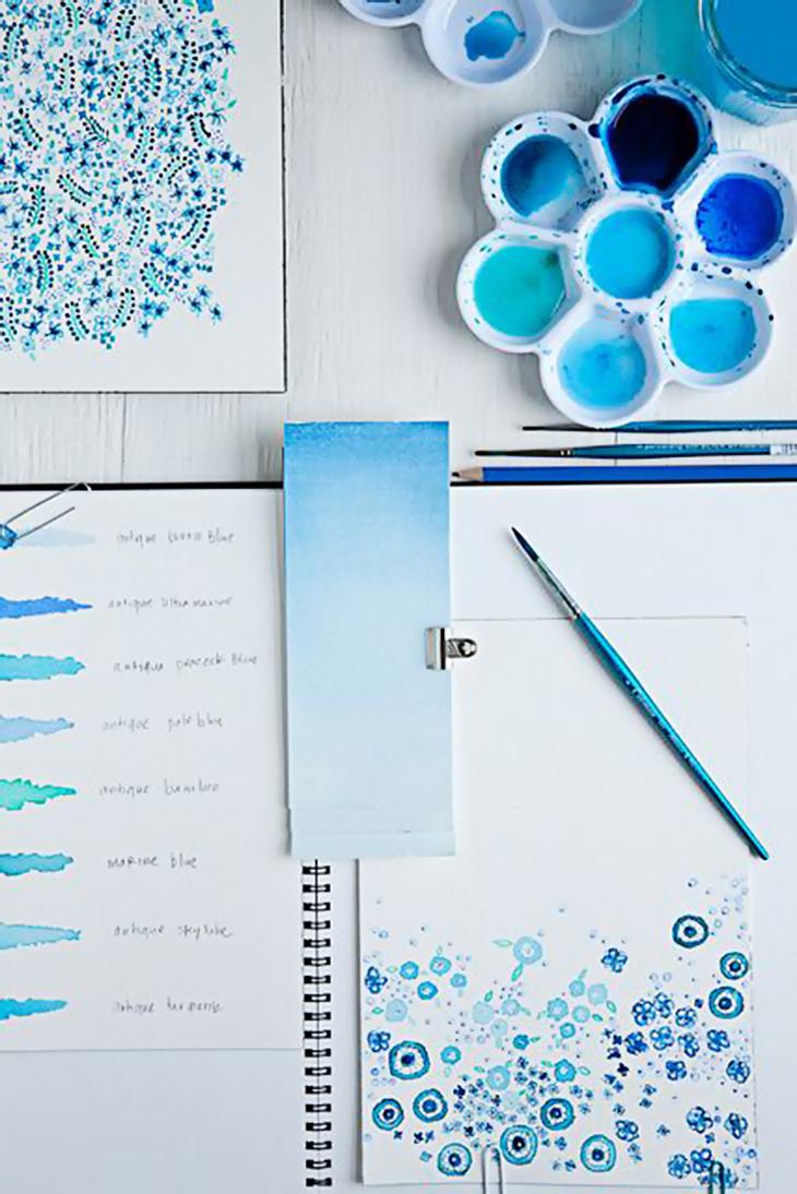 Inspiração de arte! Imagem do Pinterest.