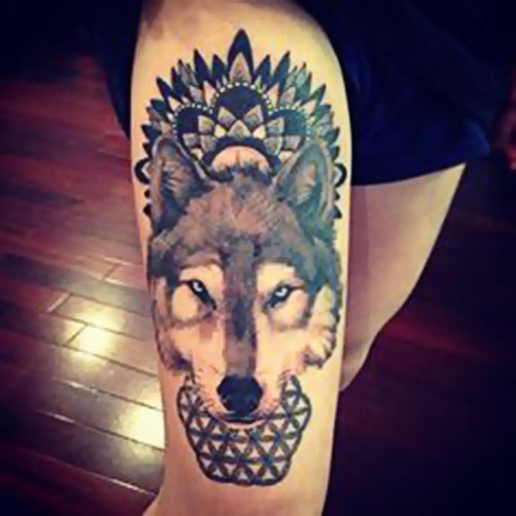 Tatuagem, inspiração geométrica! Imagem do pinterest.