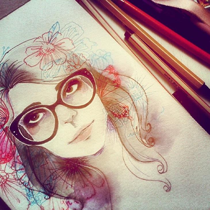 Ilustração linda da Juliana Rabelo</a.