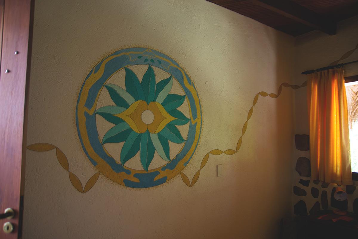 Mandala que meu tio fez lindo *-*